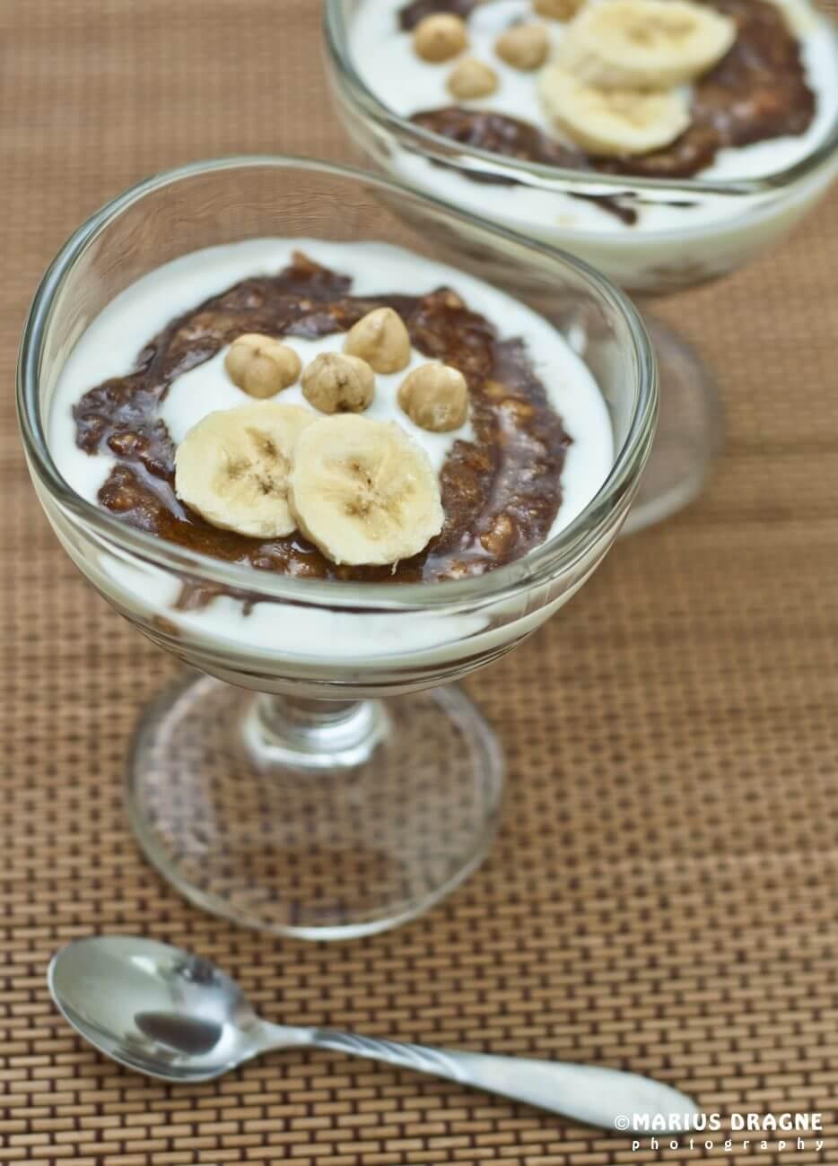 Desert cu banane si cafea