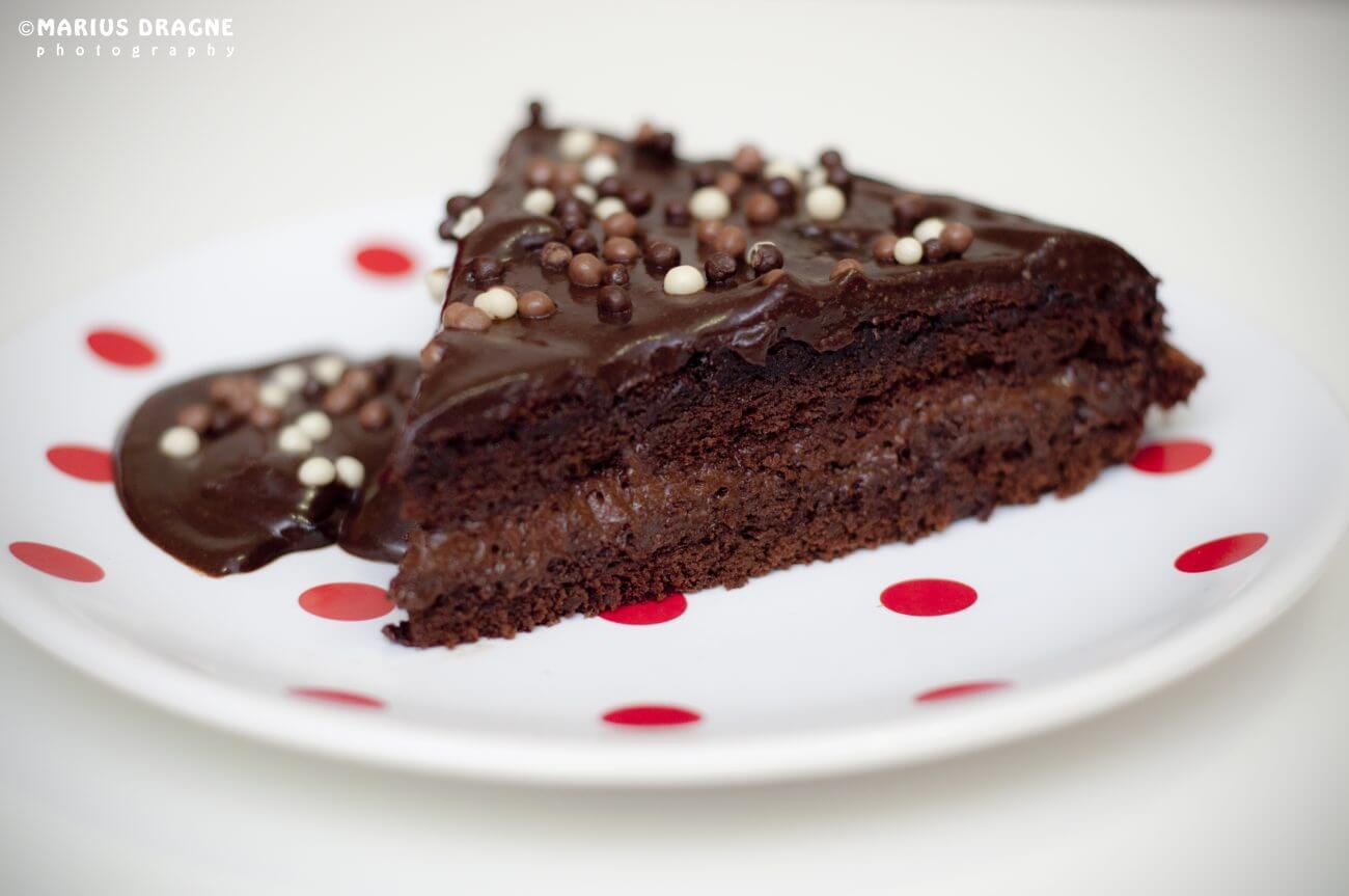 Prajitura cu spuma de ciocolata