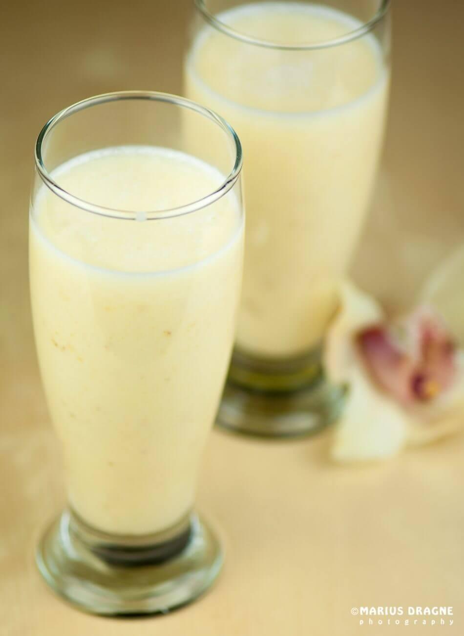 Shake de banane cu sirop de artar