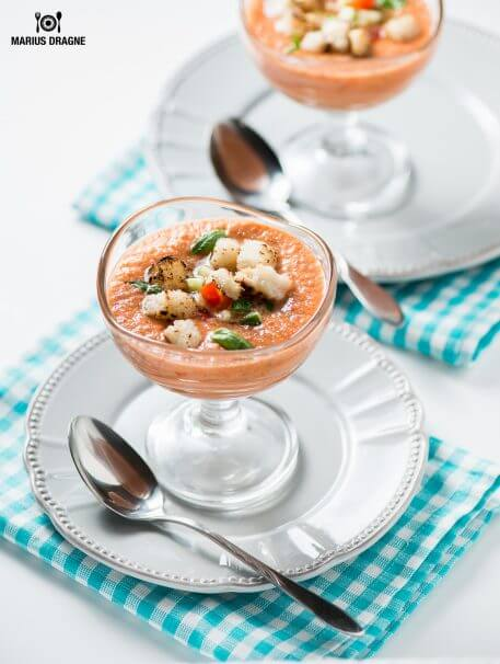Gazpacho – supa rece de legume