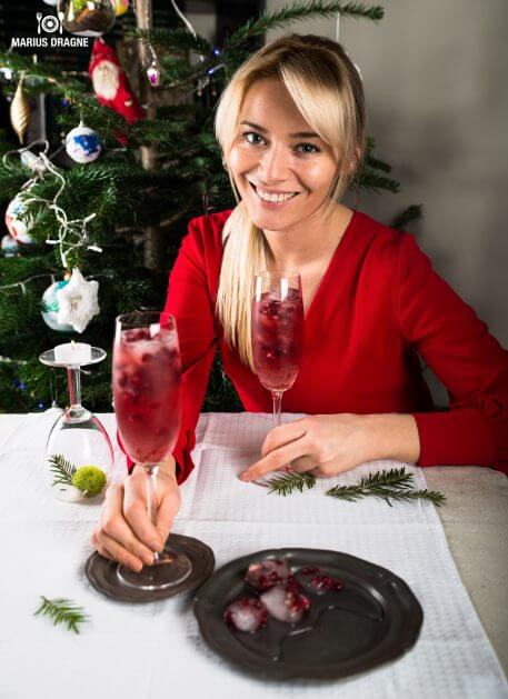 Cocktail cu sirop de rodie