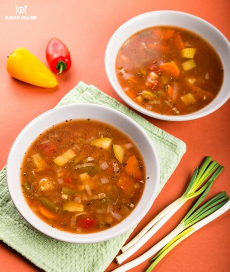 Supa de legume la Slow Cooker Crock-Pot