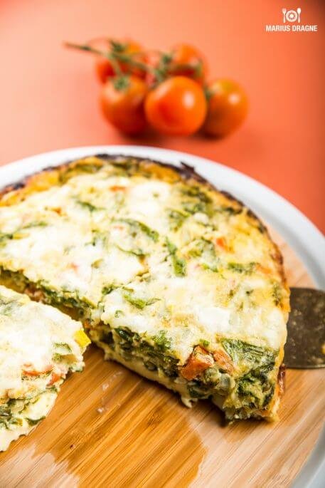 Frittata cu spanac la Slow Cooker Crock-Pot