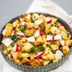 Salata de cartofi cu ridichi