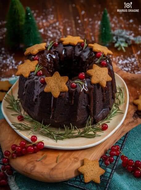 Tort de ciocolata pentru Craciun