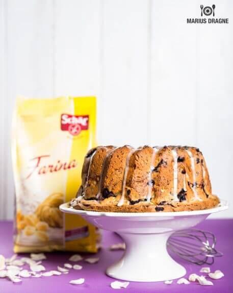Bundt Cake cu afine si lime – reteta fara gluten