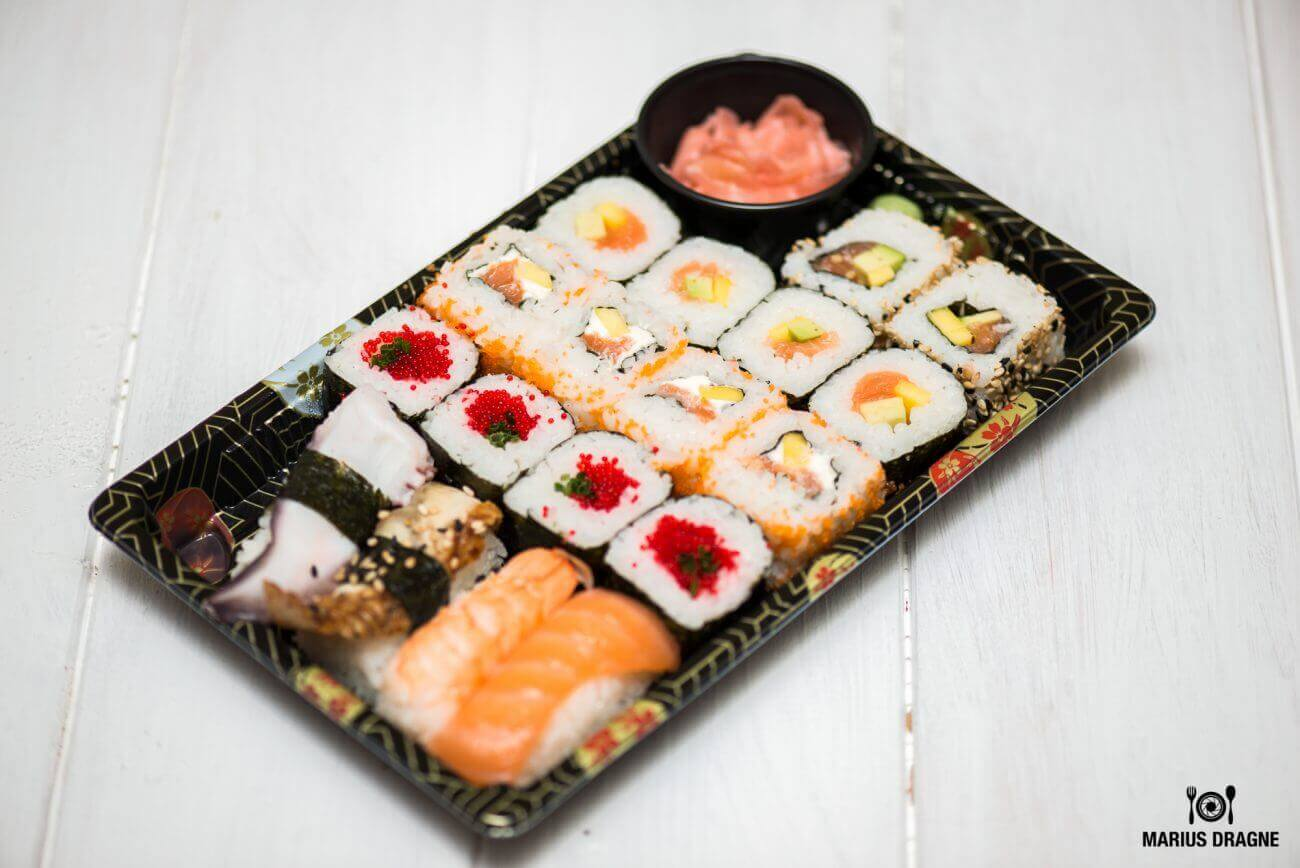 De unde comandam online sushi in Bucuresti?