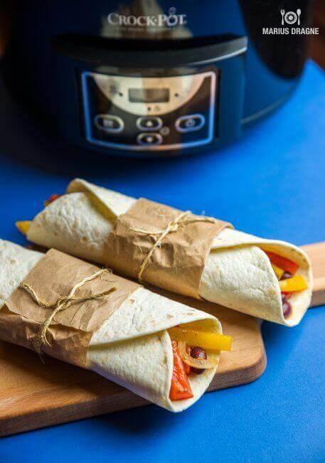 Fajitas cu legume la Slow Cooker Crock-Pot – de post