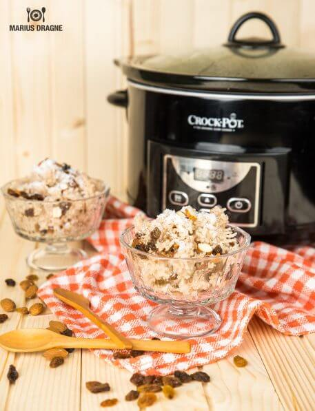 Budinca de orez cu cocos la Slow Cooker Crock-Pot – de post