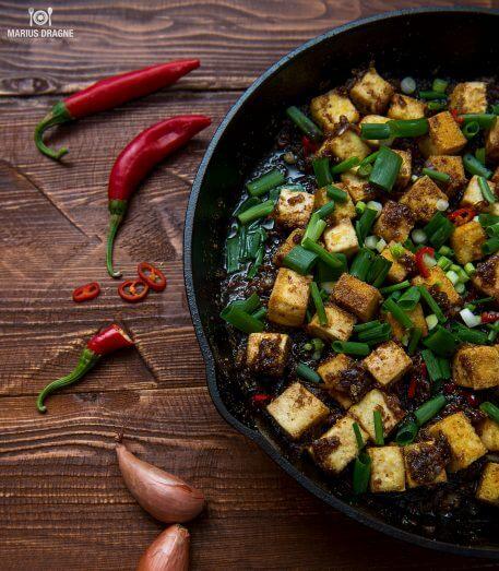 Tofu cu piper negru