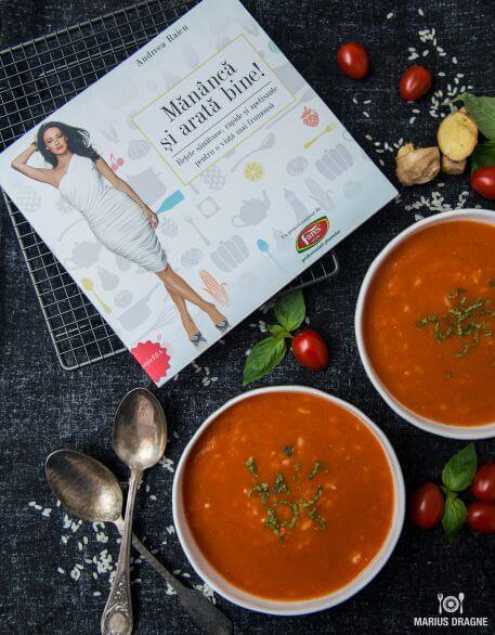 Supa de rosii cu ghimbir