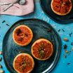 Grapefruit la cuptor cu fistic