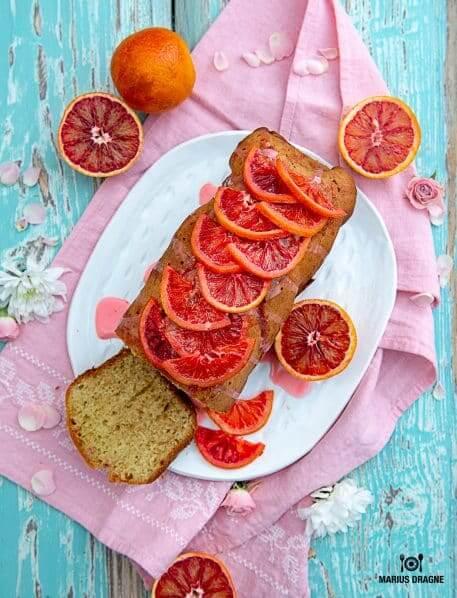 Chec cu portocale rosii