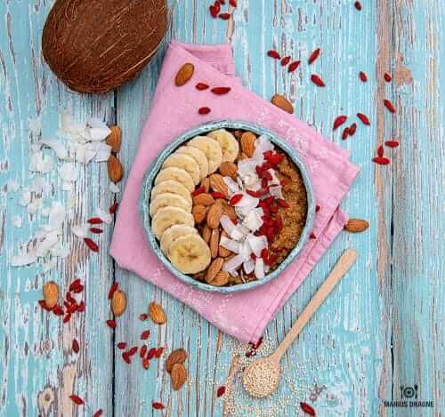 Budinca de quinoa cu goji