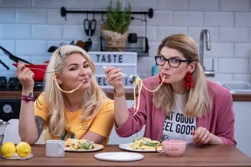 Veggie Carbonara – Invitat Laura Musuroaea / Taste by Delicii