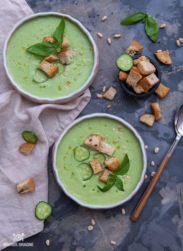 Gazpacho verde – supa rece de vara