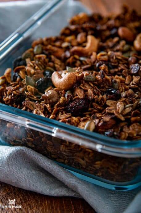 Cea mai usoara reteta de Granola homemade