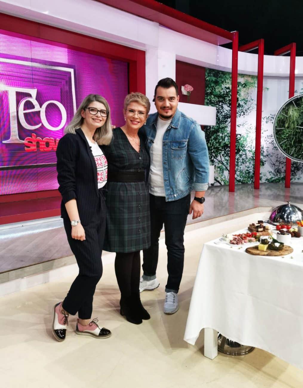Cum mai poate arata masa de sarbatori, vazuta de un foodstylist, la Teo Show!