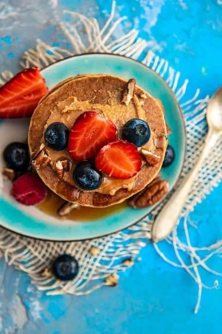 Mini pancakes proteice