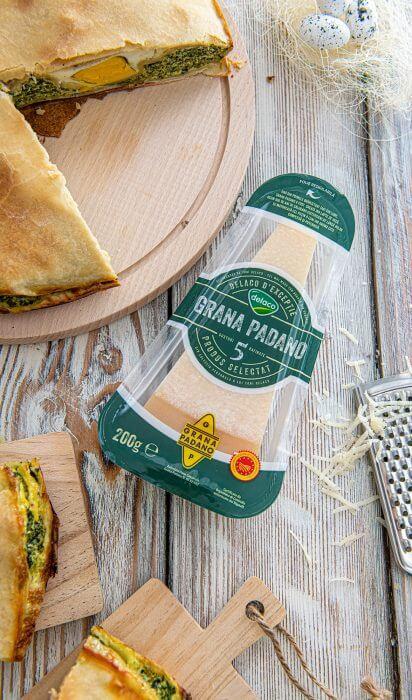 Placinta cu spanac pentru masa de Paste