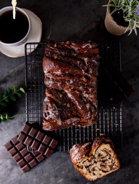 Babka – cozonac cu ciocolata