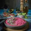 Hummus cu sfecla