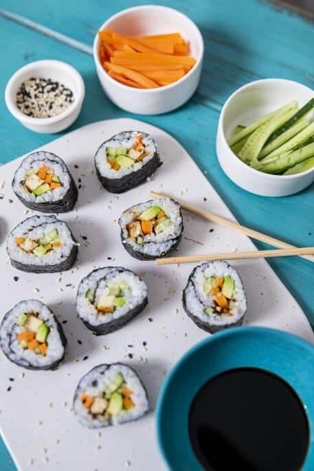 Sushi cu tofu
