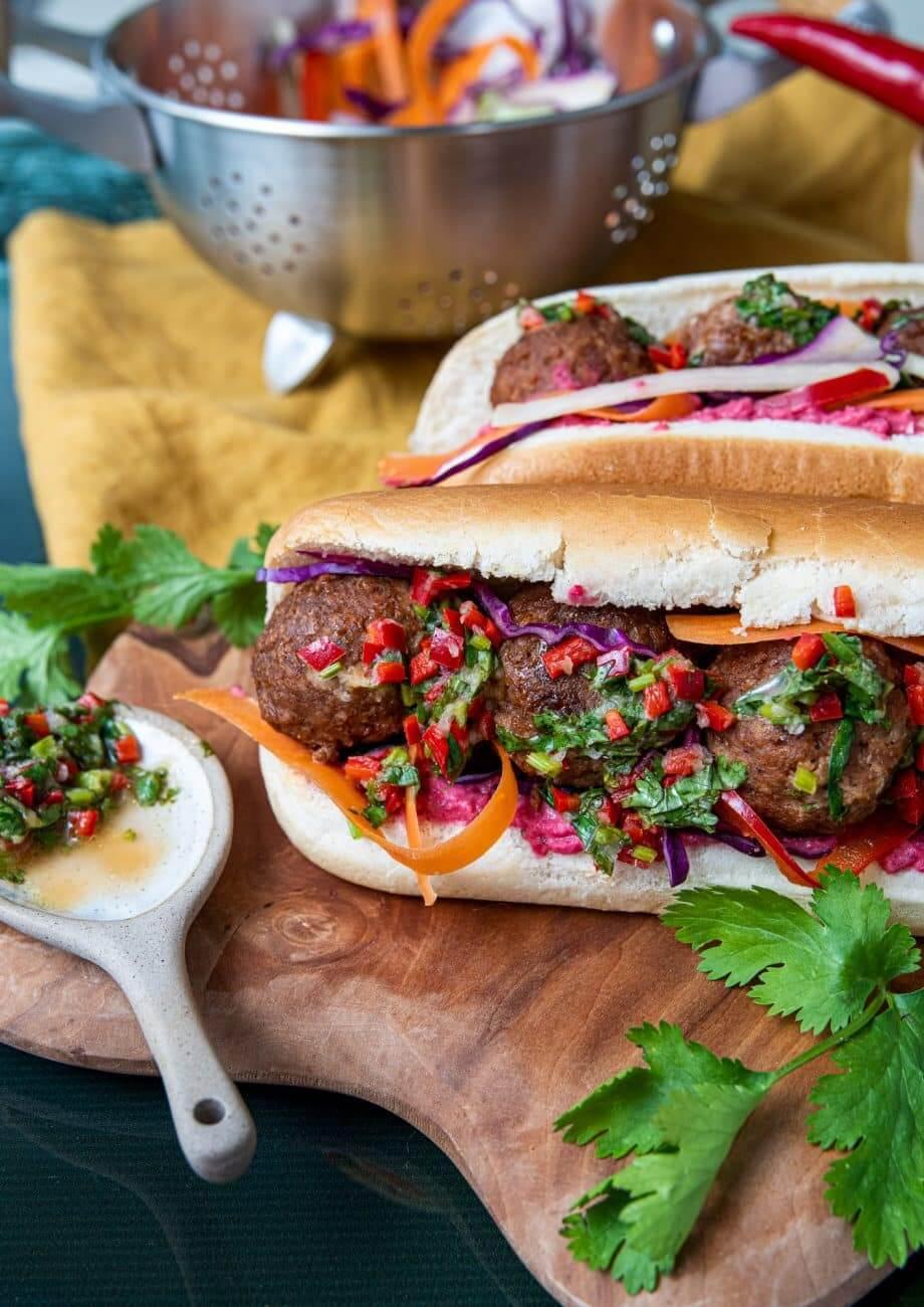 Sandwich Banh Mi Vegan