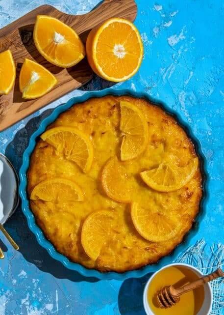 Portokalopita – placinta greceasca cu iaurt si portocale
