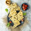 Gozleme – lipii turcesti cu spanac si feta